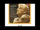 Leonard Bernstein (Samuel Barber) Adagio for Strings, Op. 11 Molto Adagio