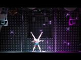 Клишкова Алёна, Букреева Валерия. I место Pole Dance Duet continue. Сибирские гонки по вертикали «4 Стихии»