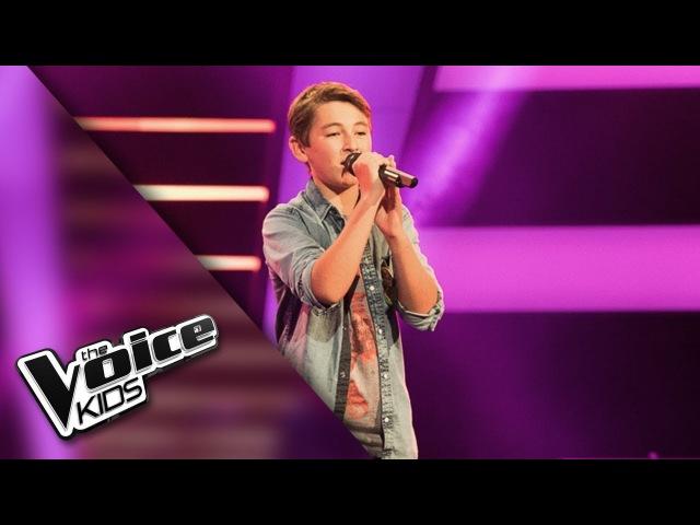 Thomas De Man Die Niet Kan Gaan The Voice Kids 2018 The Blind Auditions