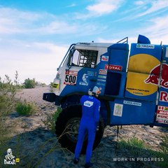 """Dakar Rally Official Game on Instagram: """"Make way for the big boys. These machines are made to tame the countryside and overcome anything they may ..."""