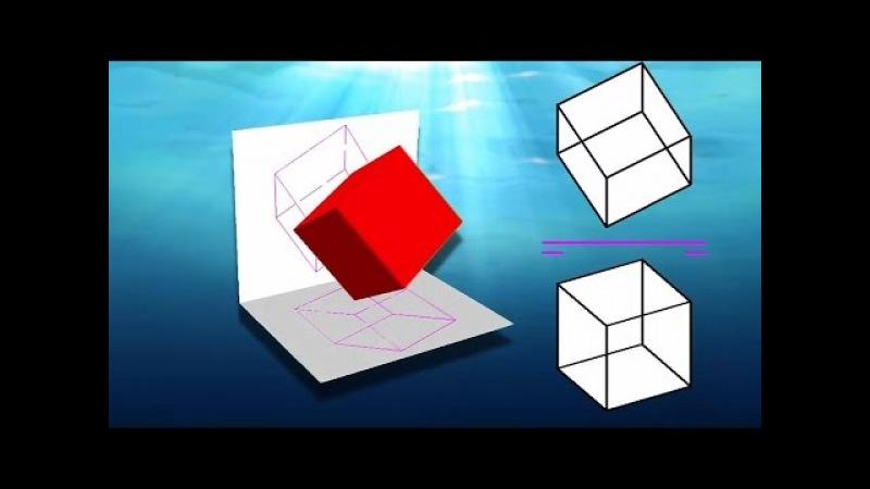 Cómo hallar la visibilidad en diédrico 1 Reglas básicas Cálculo de partes vistas y ocultas