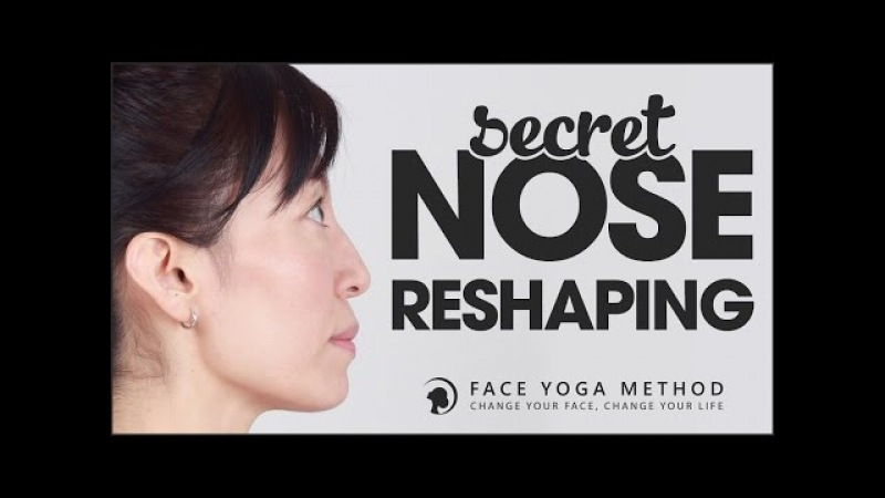 The Secret of Nose Reshaping faceyogamethod.com/ - Face Yoga Method