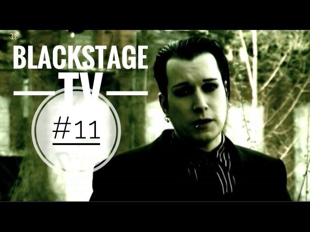 Blutengel Chris Pohl Blackstage TV 11 german english subtitles gothic metal electro music songs