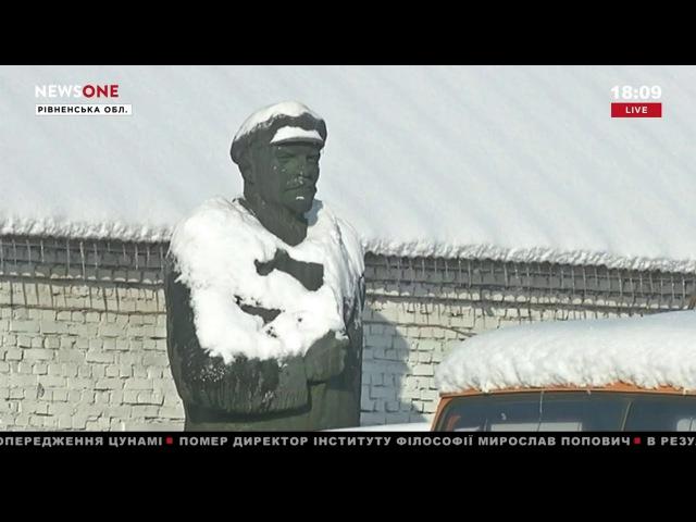 В Радивилове Винницкой области планируют переплавить Ленина в памятник литовскому князю