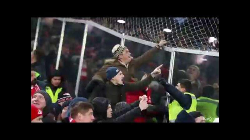 Spartak and Zenit fans / Стычка фанатов Спартак и Зенита