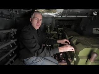 Внутри танка ИСУ-152
