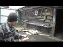 Удобный способ переноски дров