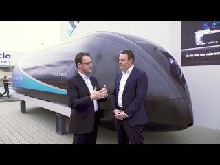 Virgin Hyperloop One at CES 2018