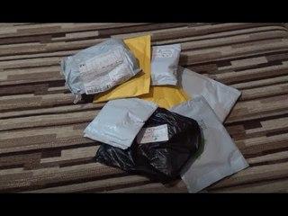 Посылки из Китая. Распаковка №48. Последняя гора посылок.