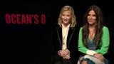 Sandra Bullock and Cate Blanchett talk Ocean's 8