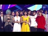 180429 Twice занимают первое место на Inkigayo и получают свою десятую награду с What is Love.