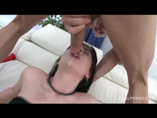 Charlotte sartre 100% double anal with 0% pussy fucking sz1538 (480)