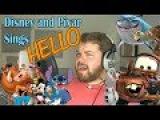 Герои Disney и Pixar поют Hello Адель/РЕАКЦИЯ