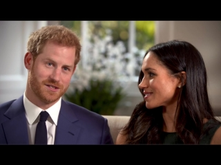 When Prince Harry and Meghan Markle fell in love - Interview - The Royal Wedding - BBC (1)