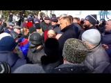 Сергей Цивилев встал на колени
