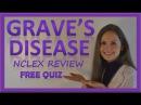 Graves Disease Nursing NCLEX Lecture Pathophysiology Treatment & Symptoms