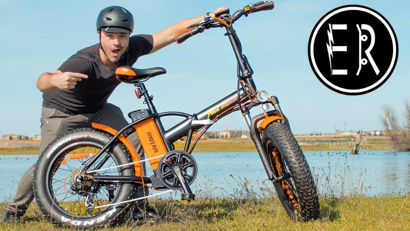 COOLEST, FASTEST FAT TIRE FOLDING ELECTRIC BIKE IN 2018!! Addmotor Motan M150-P7