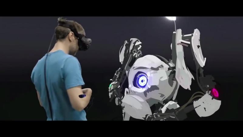 Виртуальные реальность с HTC Vive