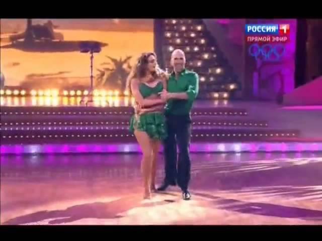 А.Водонаева и Е.Папунаишвили. Самба .