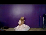 Crossdressing - Pink dress and petticoat
