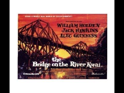 A Ponte do Rio Kwai (1957), clássico de guerra, com William Holden, completo em HD e dublado