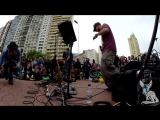 FLOW - Dub Fx and Andy V - Live Performance, Praça Roosevelt - SP part