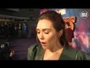 Элизабет Олсен (Алая Ведьма) - Интервью на спецпоказе отрывка Войны Бесконечности в Лондоне