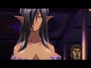Hentai +18 Хентай. Kuroinu Kedakaki Seijo wa Hakudaku ni Somaru(1) черный пес. (русская озвкучка)