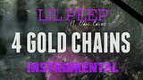 Lil Peep FT. Clams Casino - 4 Gold Chains INSTRUMENTAL Prod. by IZM