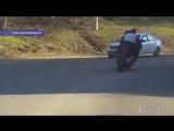 Сотрудниками ДПС задержан пьяный лихач на мотоцикле