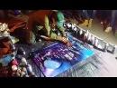 Уличный художник на Арбате рисует в стиле Spray paint art Очень круто