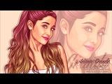 Vexel x Vector Tutorial (Speed Art) Using Photoshop CS6 (Ariana Grande)