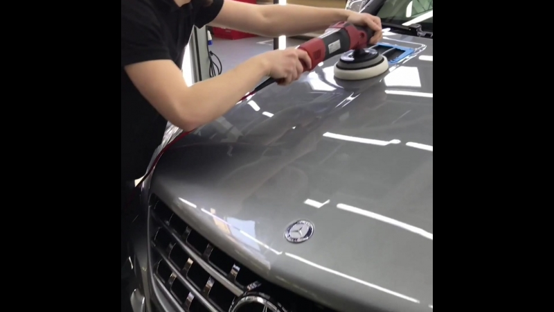 Предпродажная подготовка Mercedes ML 350