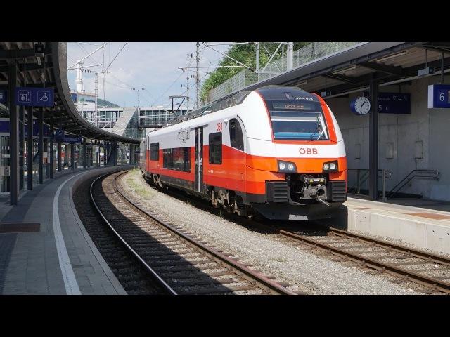 ÖBB 4744 018 Cityjet als S1 | Bruck an der Mur [4k]