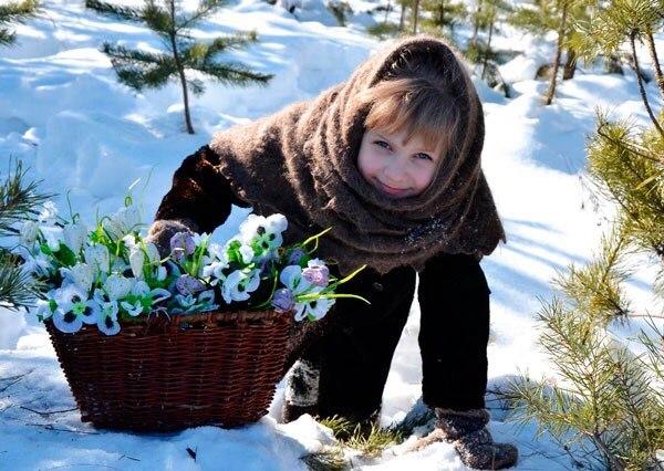 Загадки про весенние цветы