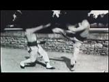 Уникальные исторические кадры 1897 г. французской системы единоборства бокс-саватэ, г. Лион