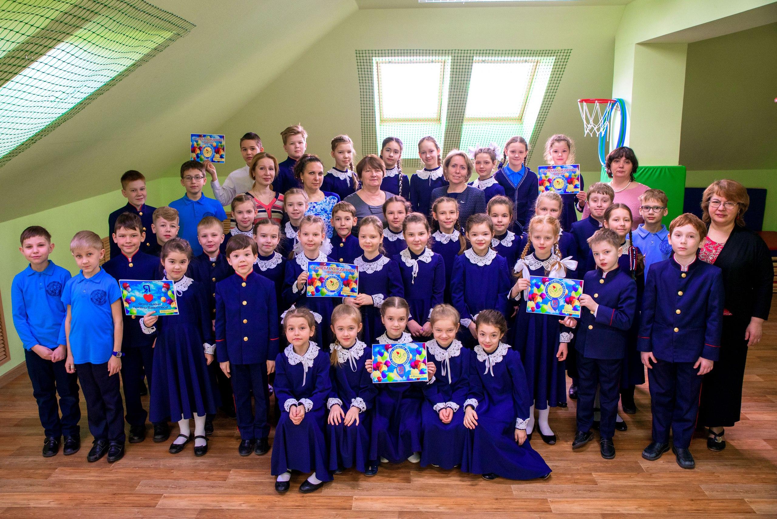 Православная гимназия Казани присоединилась к поздравлению фонда Анжелы Вавиловой