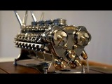 Smallest V 12 engine of the world - Used in Super Sport Car and Tank