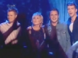 Westlife and Lulu - Back at one (Live)