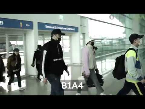 뉴스인스타 B1A4 비원에이포 출국길 일본 열도 기죽이는 복고패션으로 센스 5