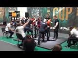 Попытка Алексей Никулина на 345 килограммов