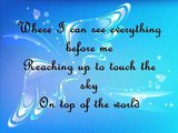 On Top of the World wLyrics