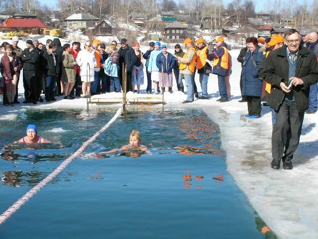 Первенство Пермской области по зимнему плаванию 2008
