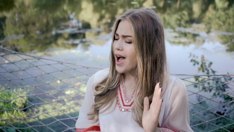 Ангелина Пиппер (Белоруссия) - Дзiва . 2017 премьера. FULL HD 2K Видео.