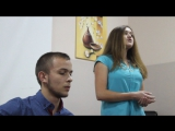 Вика и Коля с песней