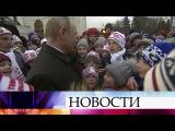 Школьники на Кремлевской Елке забросали Владимира Путина недетскими вопросами.