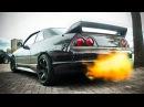 Nissan Skyline R33 - FLAMETHROWER Anti-Lag SOUNDS!