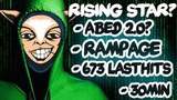 Who is this guy! WTF New Meepo Pro Abed 2.0 UNREAL 673 Lasthits in 30min + Rampage - EPIC Dota 2