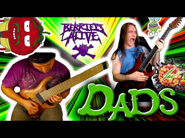 RINGS OF SATURN - BERRIED ALIVE - DADS GUITAR PLAY THROUGH