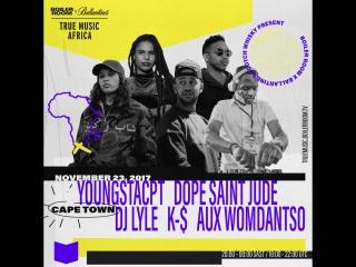 Boiler Room x Ballantine's True Music Cape Town